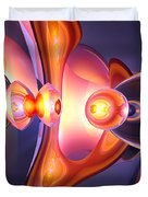Combustion Abstract Duvet Cover by Alexander Butler