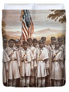 'Come and Join Us Brothers' Duvet Cover by American School