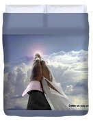 Come As You Are Duvet Cover by Reggie Duffie