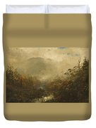 Coming Storm In The Adirondacks Duvet Cover by William Sonntag