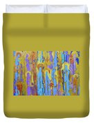 Communion Of Saints Duvet Cover by Elise Ritter