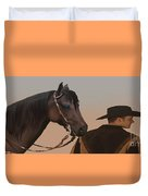 Companions Duvet Cover by Corey Ford