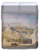 Constantinople Duvet Cover by David Roberts