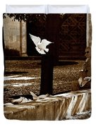 Cordoba Flight Duvet Cover by Lorraine Devon Wilke
