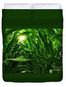 Corn Field Duvet Cover by Carlos Caetano