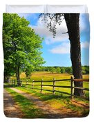 Country Road Duvet Cover by Catherine Reusch  Daley