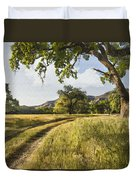 Country Road Duvet Cover by Sharon Foster