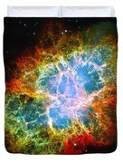 Crab Nebula Duvet Cover by Don Hammond