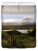 Croagh Patrick, County Mayo, Ireland Duvet Cover by Peter McCabe
