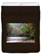 Current River Fall Duvet Cover by Marty Koch