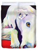 Cyrus Duvet Cover by Pat Saunders-White