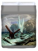 D Day Duvet Cover by Orville Norman Fisher