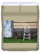 Dads High Chair Duvet Cover by Lauri Novak