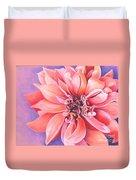 Dahlia 2 Duvet Cover by Phyllis Howard