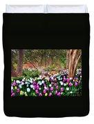 Dallas Arboretum Duvet Cover by Tamyra Ayles