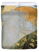 Danae Duvet Cover by Gustav Klimt