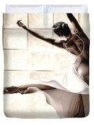 Dance Finesse Duvet Cover by Richard Young