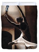 Dance Seclusion Duvet Cover by Richard Young