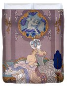 Dangerous Liaisons Duvet Cover by Georges Barbier