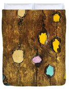 Dangling Blossoms Duvet Cover by Tara Thelen