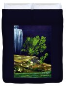 Dark Waters Duvet Cover by Patricia Griffin Brett