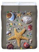 Day At The Beach Duvet Cover by Garry Gay