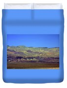 Death Valley - Land Of Extremes Duvet Cover by Christine Till