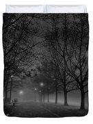 December Morning In Riverfront Park - Spokane Washington Duvet Cover by Daniel Hagerman
