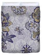 Deco Flower Blue Duvet Cover by JQ Licensing