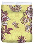 Deco Flower Yellow Duvet Cover by JQ Licensing