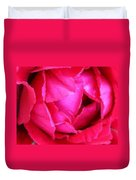 Deep Inside The Rose Duvet Cover by Kristin Elmquist