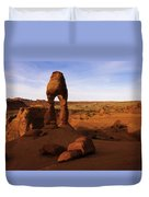 Delicate Sunrise Duvet Cover by Chad Dutson
