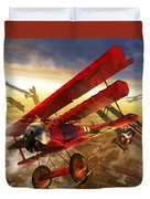 Der Rote Baron Duvet Cover by Kurt Miller