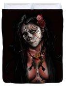 Dia De Los Muertos 3 Duvet Cover by Pete Tapang
