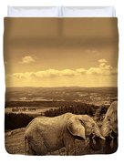 Dignified Rank Duvet Cover by Lourry Legarde