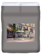 Dining Alfresco Duvet Cover by Ryan Radke