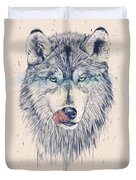 Dinner Time Duvet Cover by Balazs Solti