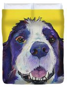 Dolly Duvet Cover by Pat Saunders-White