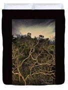 Dolwyddelan Castle Duvet Cover by Meirion Matthias