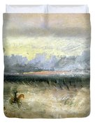 Dover Duvet Cover by Joseph Mallord William Turner