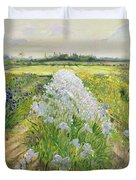 Down the Line Duvet Cover by Timothy Easton