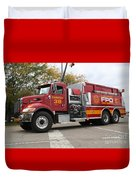 Downs Tanker 38 Duvet Cover by Roger Look