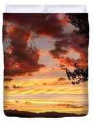 Dramatic Sunset Reflection Duvet Cover by James BO  Insogna