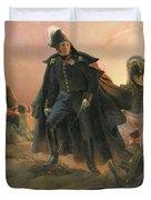 Duke Of Angouleme At The Capture Of Trocadero Duvet Cover by Hippolyte Delaroche