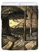 Early Morning Duvet Cover by Samuel Palmer