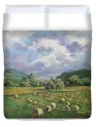 Early Summer Cutting Duvet Cover by Marlene Gremillion