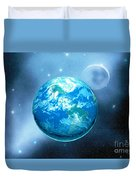Earth Duvet Cover by Corey Ford