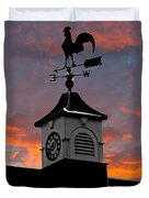 East By South Duvet Cover by Brian Roscorla