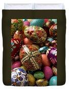 Easter Eggs Duvet Cover by Garry Gay