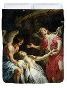 Ecstasy of Mary Magdalene Duvet Cover by Peter Paul Rubens
